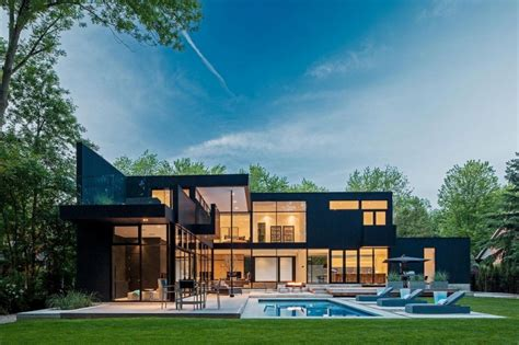 modern home design canada 2 storey modern home in ontario canada most beautiful