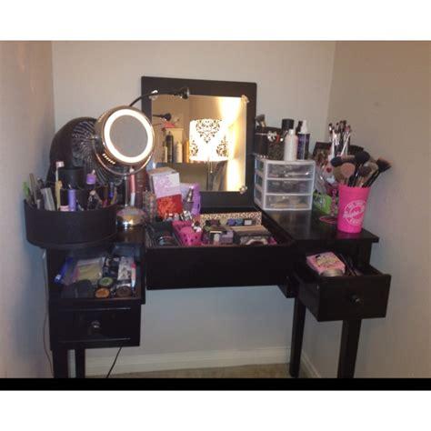 Guerriero Makeup Vanity by Updated Makeup Storage Organization Vanity Collection