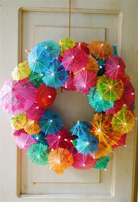 luau crafts for sweet and simple magazine summer idea hawaiian luau