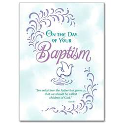 on the day of your baptism baptism card