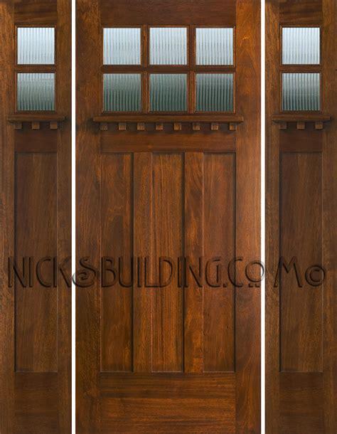 Craftsman Front Door With Sidelights Top Doors Nicksbuilding
