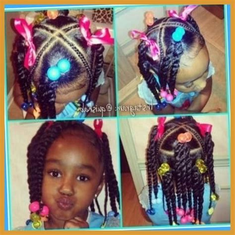 Quick hairstyles for African American Toddler Girl