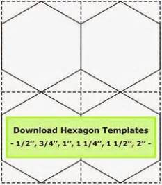 3 inch hexagon template printable hexagon templates for your creative craft or