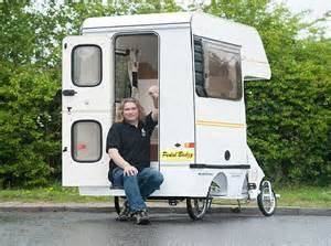 smallest cer with bathroom this built the world s smallest cervan with a 4ft