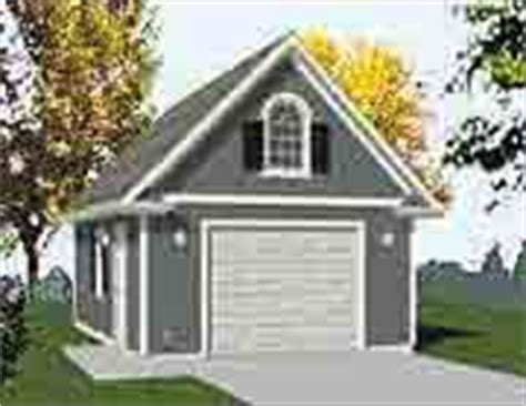 16 X 24 Garage Package by Garage Plans 1 Car 384 3 16 X 24 One