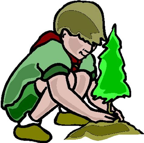 clipart scout clip clip scouting 058174