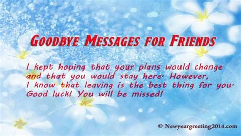 goodbye letter to a friend saying goodbye to a friend farewell quotes for friends