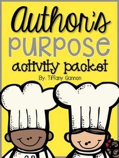 printable author s purpose poster authors purpose activities on pinterest authors purpose