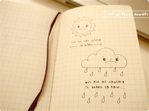 how to doodle in a notebook doodle notebook quotes quotesgram