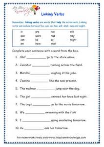 auxiliary verbs worksheets for grade 4 sentences and