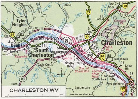 charleston wv map charleston wv on map afputra
