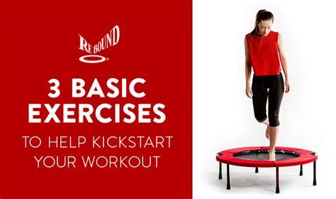 basic rebounder exercises reboundair
