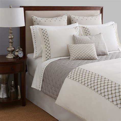bloomingdales bedding sale vera wang embroidered lattice bedding collection