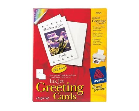 hp matte greeting cards white half fold template avery note cards 4 25 x 5 5 inches matte white box of