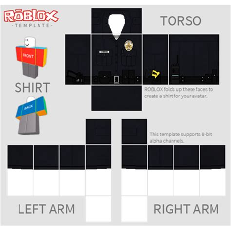 similiar roblox police officer uniform keywords