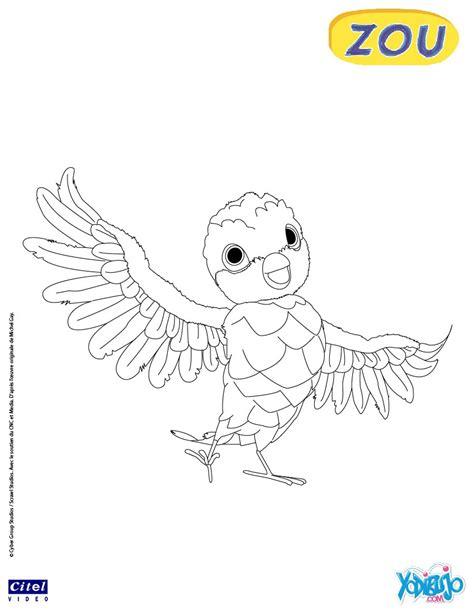 dibujos para pintar zou la cebra zou juega con un coche dibujos para colorear poc el p 225 jaro es hellokids com