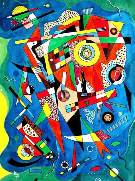 imagenes abstractas de wassily kandinsky arte abstracto kandinsky www pixshark com images