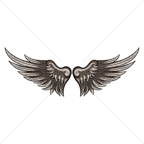 Wing Design Vector Image 1874002 Stockunlimited Wing Designs