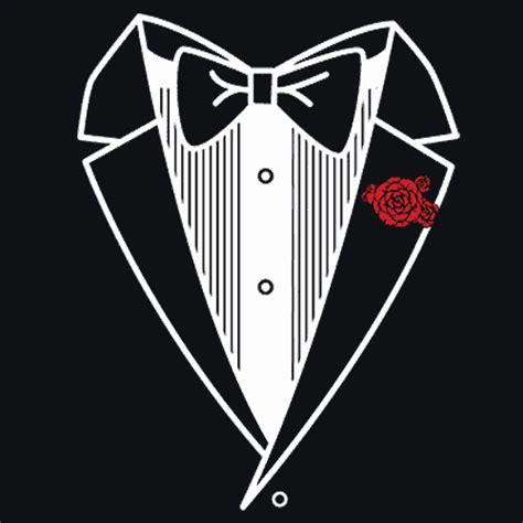 Tuxedo T Shirt Template by Tuxedo T Shirt Prom Tux Apparel Textual Tees
