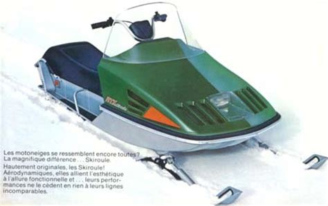 Skiroule RTX Snowmobile 1973   Oil Depot   AMSOIL Dealer Serving Canada & US