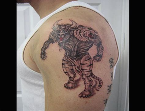 beastly tattoo bull images designs