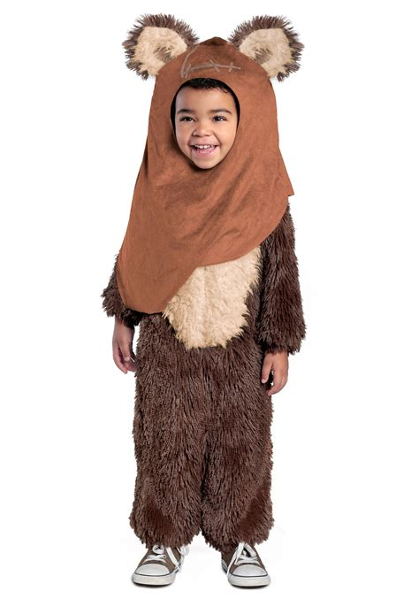 in costume toddler deluxe wicket ewok costume