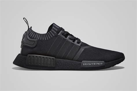 Adidas Nmd R1 Pk Japan Black Basf Boost Original Ua adidas nmd r1 primeknit quot japan black boost quot release date hypebeast
