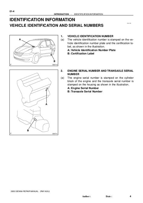 2005 toyota sienna service repair manual 2005 toyota sienna service repair manual
