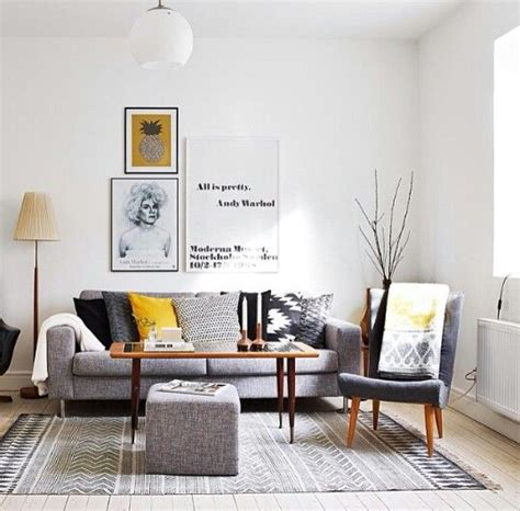 grey black and yellow living room best 25 gray decor ideas only on gray