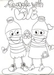 recycling coloring pages bluesilver productions recycling awareness caign