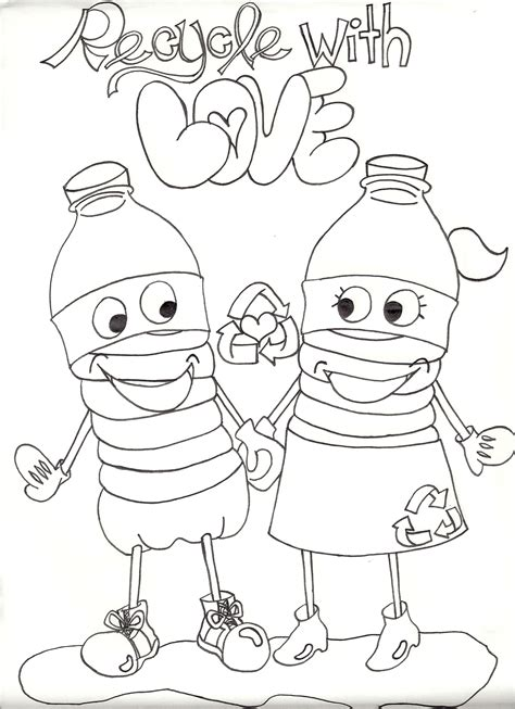 coloring pages for recycling bluesilver productions recycling awareness caign