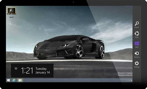 sports themes for windows 8 1 lamborghini cars windows 8 theme