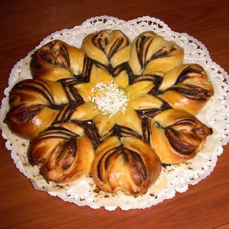 fiore di brioche con nutella bimby brioche a fiore con nutella