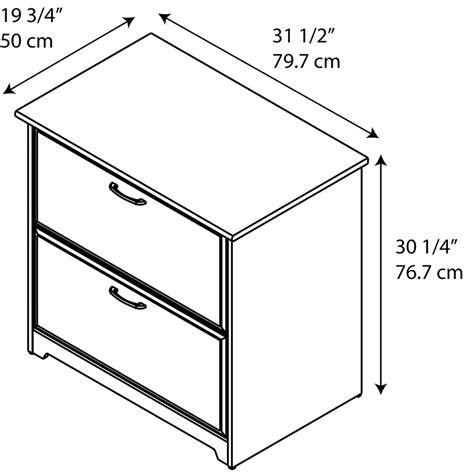 espresso lateral file cabinet bush furniture cabot lateral file cabinet in espresso oak