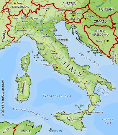 map of italy big italy map for free map of italy maps italy atlas