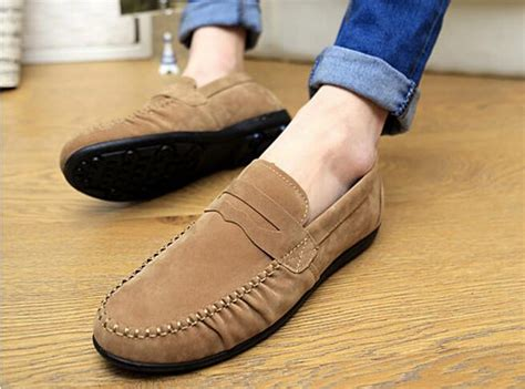 Black Master Leather Size 39 45 casual flat shoes pu leather loafers cotton lining size 39 45 black blue camel color in