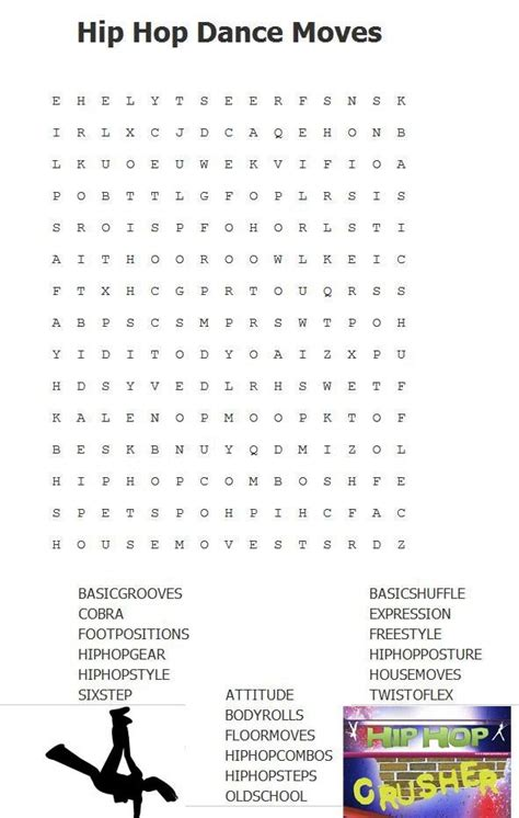 Some Search Hip Hop Word Search Ready Made Worksheets Some Are The Personal