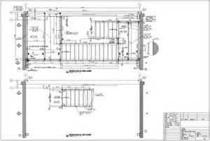 Drawing Stairs In Plan by Gallery For Gt Stairway Drawings