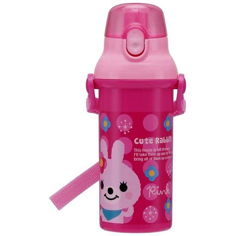 Rabbit Top Ml pink rabbit water bottle 480ml lock top for bottle