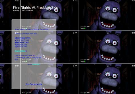 Pdf Bonnie Five Nights At Freddys Minecraft Skin by Bonnie Five Nights At Freddy S Journal Skin By
