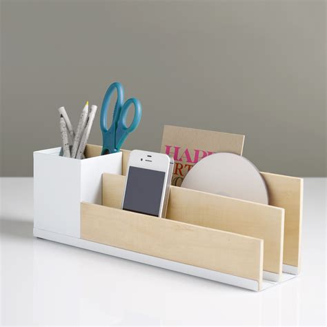Diy Inspiration Desk Organizer Use Balsa Wood Or Desk Organization Diy