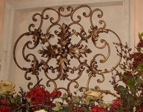 Garden Wrought Iron Decor Wrought Iron Wall Decor Ideas Home Design