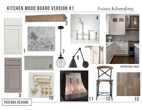 kitchen design boards farmhouse kitchen 4 mood boards to create your dream