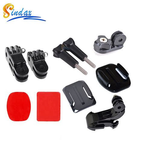 Helmet Mount For Xiaomi Yi And Gopro Helm Gopro Aliexpress Buy Helmet Front Mount For Gopro Helmet