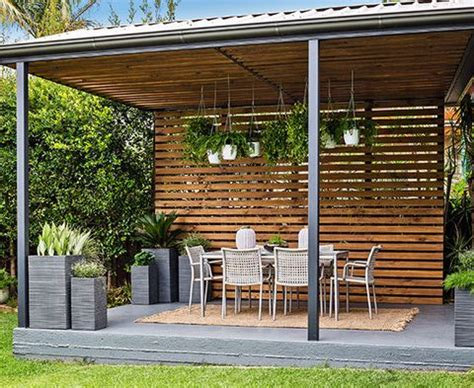 How To Update A Deck Pergola Better Homes And Gardens Better Homes And Gardens Pergola