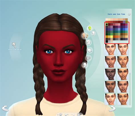 sims 4 cc skin colors my sims 4 blog improved 63 custom skin colors by the