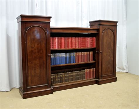 antique bookcases for sale early victorian mahogany bookcase for sale antiques com
