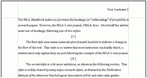 Apa Headings Within Paper