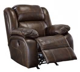 Leather Recliner Chairs Branton Antique Rocker Recliner U7190125 Leather Recliners Price Busters Furniture