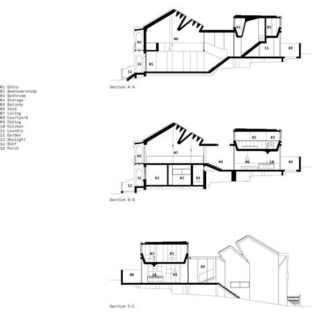 House Plan Free Software interior architecture art skylight house sections